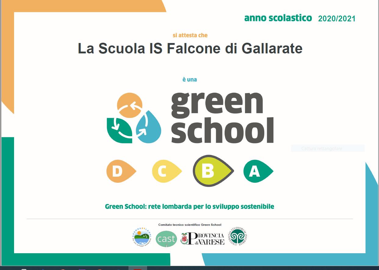 logo link Green School: rete lombarda per lo sviluppo sostenibile